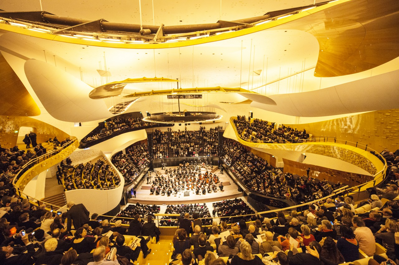 Grand Salle Philharmonie de Paris © William Beaucardet