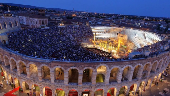Arena di Verona, © Photo: Ennevi | Courtesy of Fondazione Arena di Verona