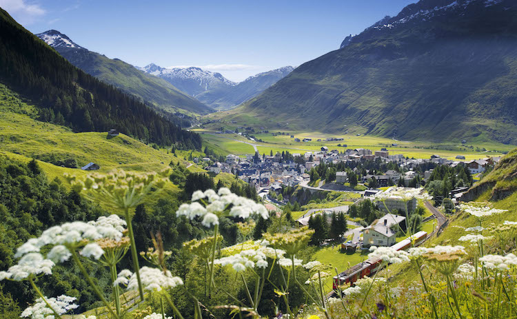 Credits:View of Andermatt © Tommy Picone
